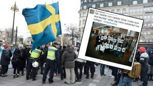 Varones se rebelan contra las violaciones musulmanas en Suecia