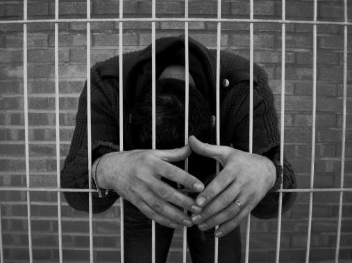 Hombres presos en Uruguay