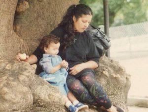 Cora del Pino y su hija