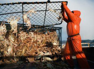 Condiciones de trabajo pescadores
