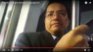 Mexico Vagones Rosa Altercado