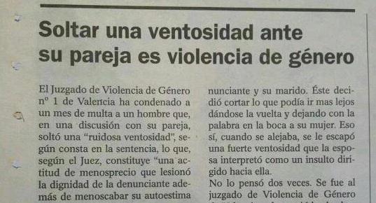 Me cago en la violencia de género