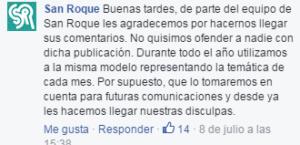 Disculpas San Roque
