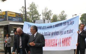 Protestan discriminación contra los hombres en los juzgados de familia de México