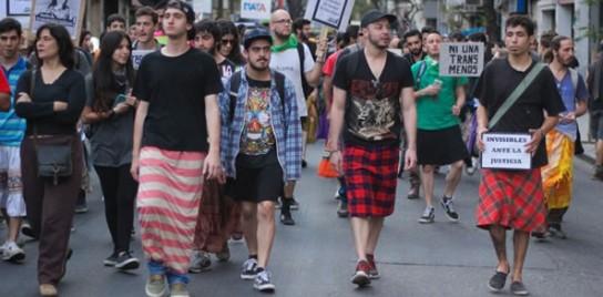 """Feministos """"masculinidades"""" en Rosario, Argentina."""