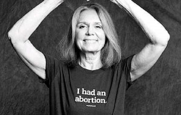 "Gloria Steinem ""Me hice un aborto"""