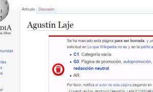 Wikipedia Agustín Laje