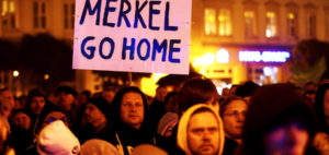 Merkel Go Home