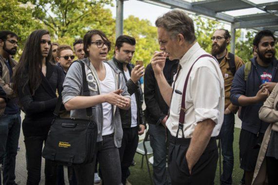 Jordan Peterson enfrentando activistas neomarxistas