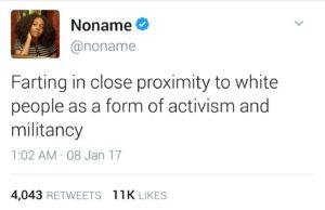 Racista negra
