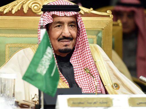 Rey Salman de Arabia Saudita