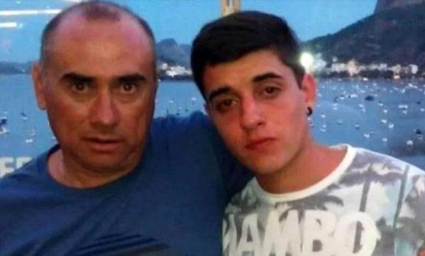 Fernando Pastorizzo y su padre