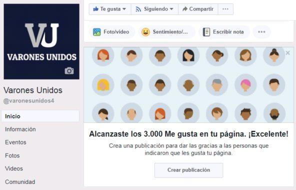 Facebook VU 3000
